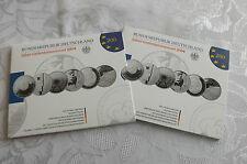 *Deutschland  6 x 10 Euro Silber Gedenkmünzen im Blister 2004 in PP *