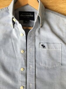 ABERCROMBIE & FITCH Ladies Casual Cotton Shirt (L)
