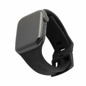 UAG Apple Watch 44mm 42mm, Series 5/4/3/2/1 Silicone Band Scout [Black] Watch S