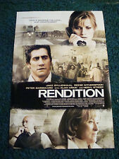 RENDITION - MOVIE POSTER WITH JAKE GYLLENHAAL, REESE WITHERSPOON, & MERYL STREEP