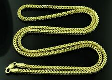 14k Solid Yellow Gold  franco chain necklace Italy 20 inch 5.30 gram #8593