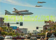 Tpt d'une navette spatial sur un Boeing NASA - sympa  - USA - affiche plastifiée