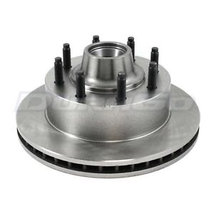 Disc Brake Rotor and Hub Assembly Front IAP Dura BR5458