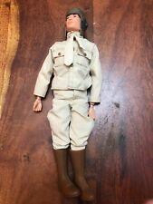 "Collectible 1964 Hasbro GI Joe Military Army Action Figure Clothe Boots 12"" (CG)"