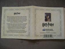 USPS - Harry Potter Stamps Booklet