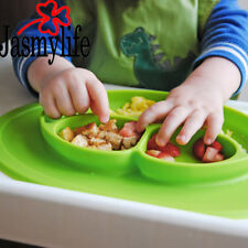 smile bowl baby children strong suction platemat silicone ideal no mess mat