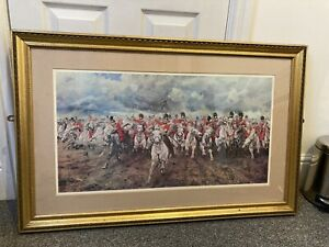 Charge Of The Light Brigade Picture Framed
