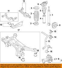 VW VOLKSWAGEN OEM 15-16 Golf Rear Suspension-Knuckle Spindle 5Q0505436J