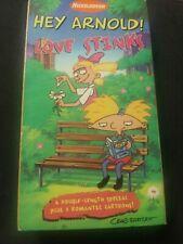 Hey Arnold!: Love Stinks VHS, McAfee, Anndi,MacNeille, Orange Tape