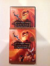 The Lion King (DVD,2003,2-Disc,Platinum Edition)Authentic US Release