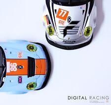 Frontspoilerlippe für Carrera Digital 124 Porsche GT3 RSR - Inkl. Schrauben