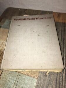 Buch DDR Jugendweihe Weltall Erde Mensch