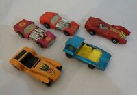 5x Vintage Matchbox Dragster Lotus Super7 Turbo fury Soopa coopa