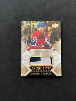2019-20 UPPER DECK EXQUISITE RYAN POEHLING ROOKIE PATCH GOLD SPECTRUM #ed 4/25
