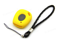 Yellow Silicone Case Cover For Renault Megane Scenic Laguna Remote Key 1B RE1BYE