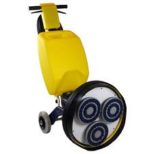"Cimex 19"" Diamond Finisher Grinder Polisher CR48DF Reversing 6.5gal Accessories"