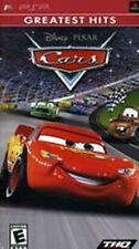 Cars NEW factory sealed Disney Pixar PlayStation Portable Sony PSP
