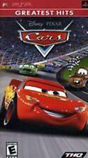 Cars NEW factory sealed Disney Pixar PlayStation Portable Sony PSP