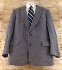 Christian Dior Sport Coat Blazer 44R Gray Flannel Wool 2 Button
