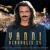 Yanni - Live At The Acropolis - 25th Anniversary (NEW CD+DVD+BLU-RAY)