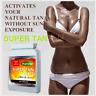 SUNLESS TANNING 60x Pills 100% Safe Golden-Bronze Healthy Tan - BRONZE GLOW TAN