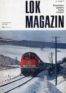 Lok-Magazin, Jahrgang 1972 komplett, Heft 52, 53, 54, 55, 56 und 57
