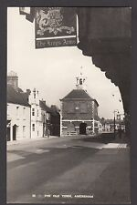 Postcard Amersham near Chesham Buckinghamshire view The Old Town RP Lilywhite