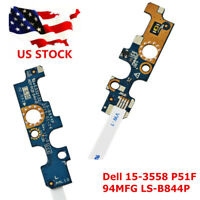 10PCS LOT Power Button Board FFC Cable 94MFG for Dell 15-3558 P51F LS-B844P New