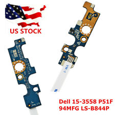 Power Button Switch Board FFC Cable Replace for Dell 15-3558 P51F 94MFG LS-B844P