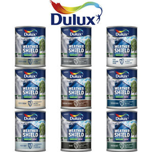 Dulux Weathershield Exterior Quick Dry Satin for Wood & Metal 750ML