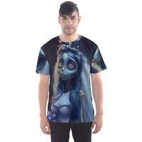 New Corpse Bride Sublimation Men's Sport Mesh Tee T-Shirt Size XS-3XL