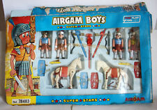 RARE AIRGAM BOYS ROMAN SOLDIERS SET PYROPLAST GREEK 80'S GREECE SPAIN NEW !
