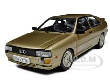 1981 AUDI QUATTRO COLORADO BEIGE 1/18 DIECAST MODEL CAR BY SUNSTAR 4157