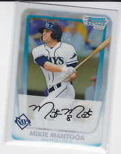 Mikie Mahtook Tampa Bay Rays 2011 Bowman Chrome Draft Prospects Refractor