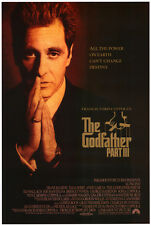 THE GODFATHER III MOVIE POSTER DS 27x40 AL PACINO