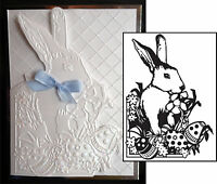 Easter Bunny embossing folders Darice embossing Folder 1218-43 animals rabbit
