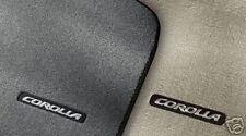 Toyota Corolla 2009 Dark Charcoal Carpet Mats - OEM NEW!
