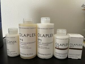 Olaplex Full Set #3, #4, #5, #6, and #7, 100%New, Sealed, Guaranteed Authentic !