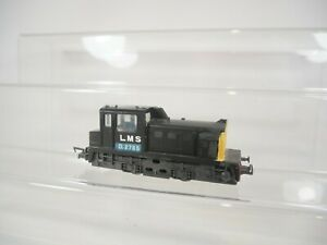 Lima OO / HO Gauge 0-4-0 Shunter Repainted DCC Fitted