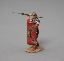 Thomas Gunn Soldiers ROM011A Roman Legionnaire Launching Pilum Red Shield 1/30