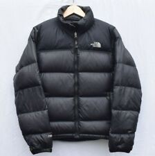 The North Face Nuptse 700 Down Jacket In Black - Size Womens Medium - Rip Repair