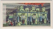 80 Inch 3 Stand Tandem Cold Steel Mill Vintage Trade Ad Card