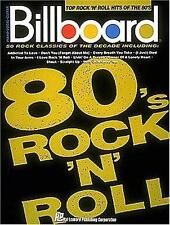 Billboard Top Rock 'n' Roll Hits Of The 80's Piano-Vocal-Guitar Series