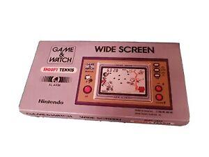 Nintendo vintage retro snoopy tennis game and watch