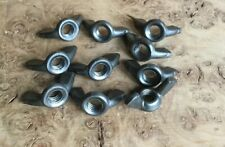 """Wing nuts Vintage 5/16"""" BSW  Whitworth Steel Cold Forged 10 Pack"""