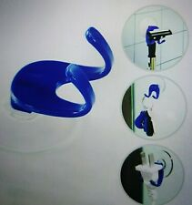 Plastic Suction Cup Rack Stand Bathroom Kitchen Holder Wall Hook