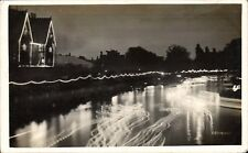 Bedford photo. Night River Scene by J.T.Welch, Bedford.