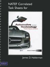 NATEF Correlated Task Sheets for Automotive Technology by James D. Halderman...