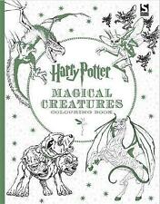 Harry Potter Magical Creatures Colouring Book by Warner Brothers (Paperback, 2016)