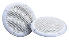 "16 OHM 1 PAIR 5"" MOISTURE RESISTANT CEILING SPEAKER BATHROOM KITCHEN 80 WATTS"